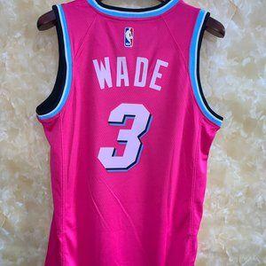 Nba Shirts Dwyane Wade Jersey Miami Heat Jersey Pink Poshmark